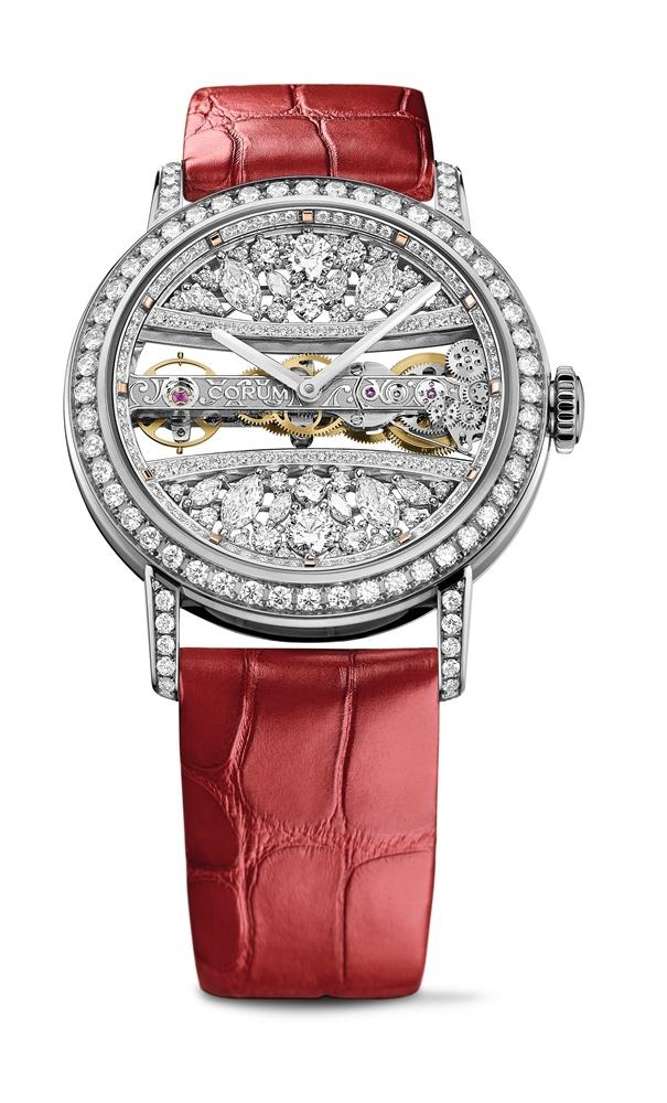 【2018巴塞尔表展】流光溢彩 奢华魅力昆仑表推出全新金桥系列39毫米圆形腕表