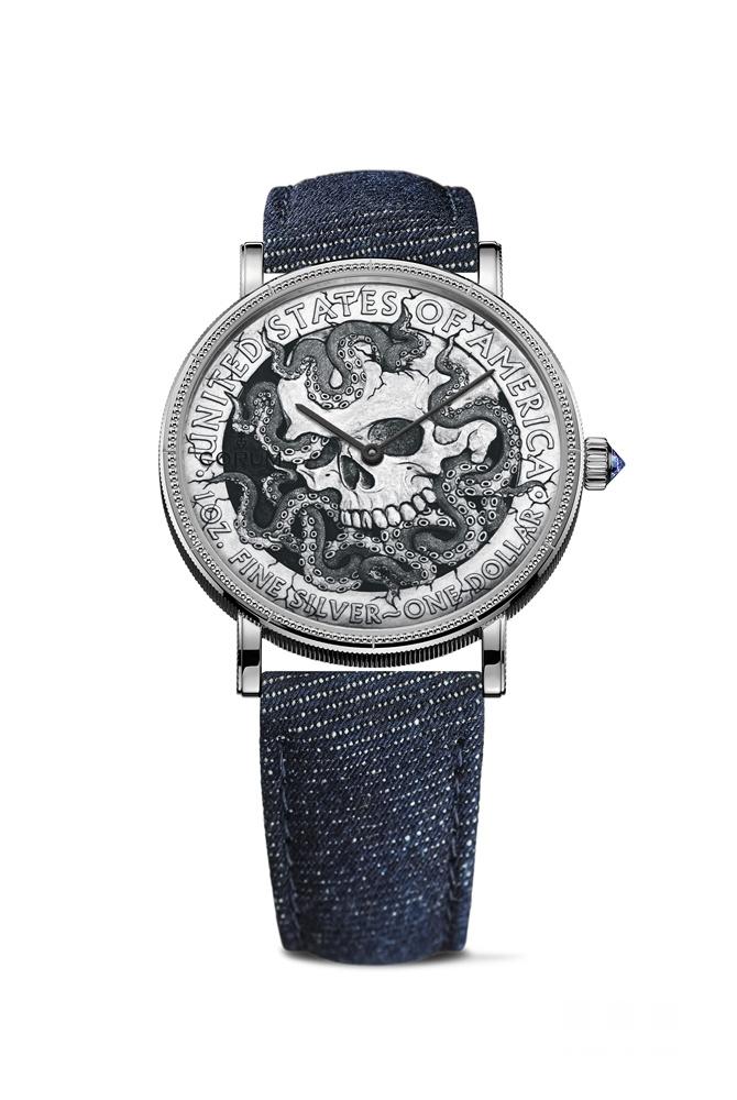 【2018巴塞尔表展】重焕新生 艺术之魅CORUM昆仑表巴塞尔钟表展推出全新限量流浪币腕表