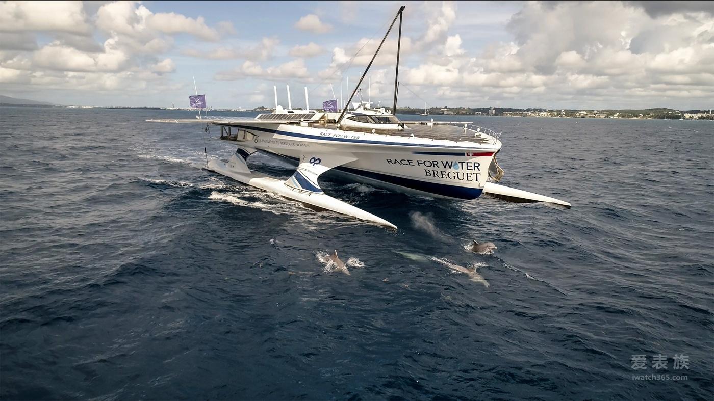 【2018巴塞尔表展】宝玑携手海洋保护基金会全新海洋卫士号恢弘航行