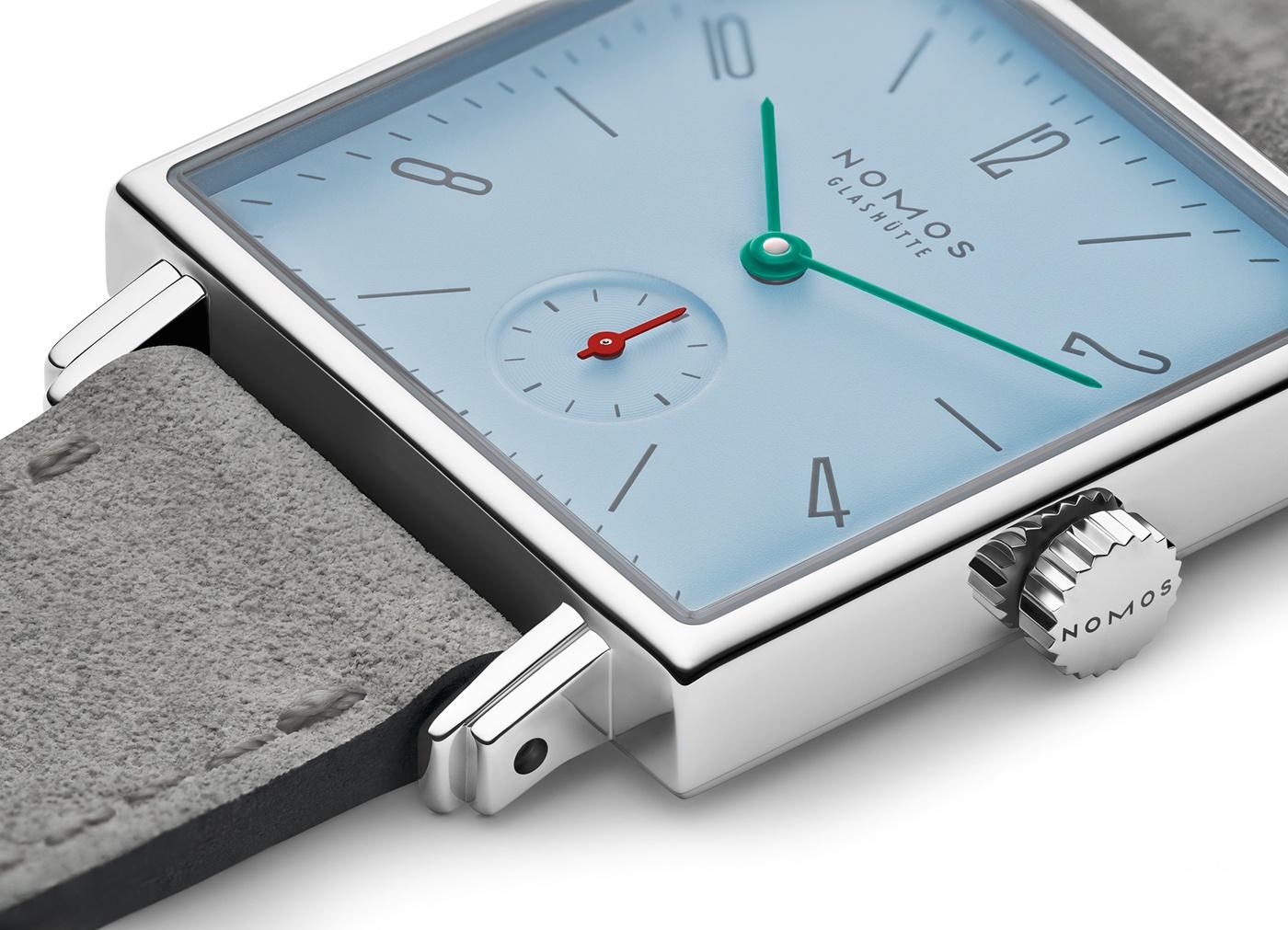 NOMOS为经典腕表系列 Tetra 推出四款新作