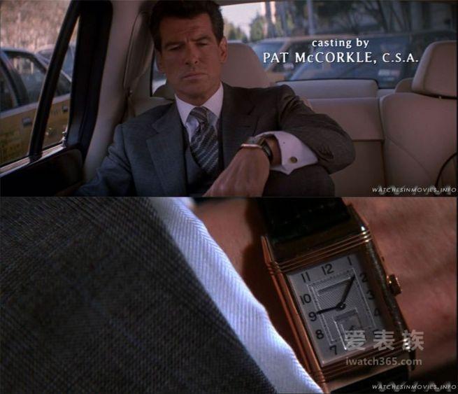 戴正表,搭西装,扮型男