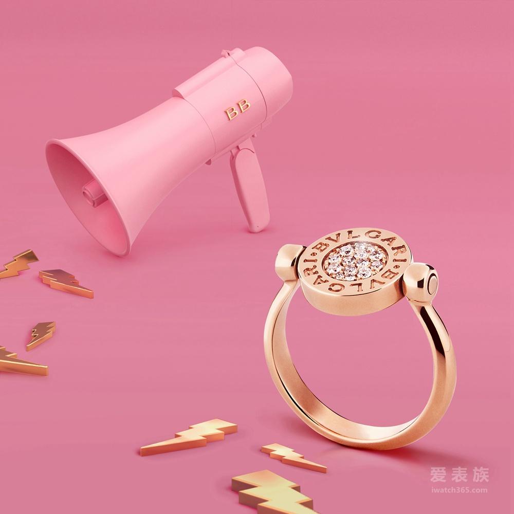 宝格丽全新BVLGARI BVLGARI系列珠宝尽显意大利珠宝世家的生活方式与时尚灵魂