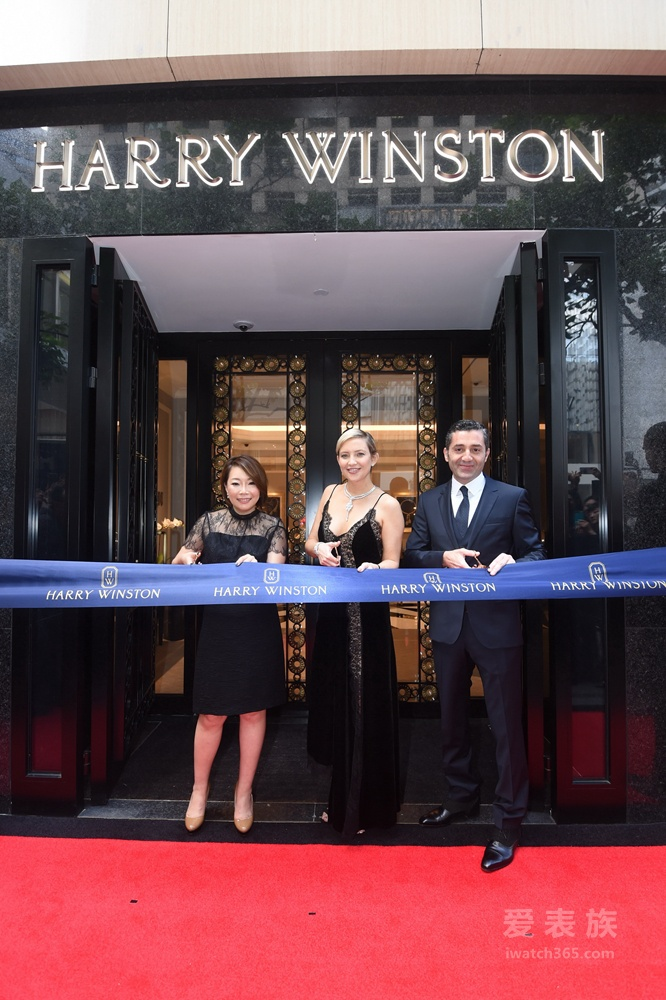 海瑞温斯顿香港文华东方酒店品牌专门店举行隆重开幕典礼