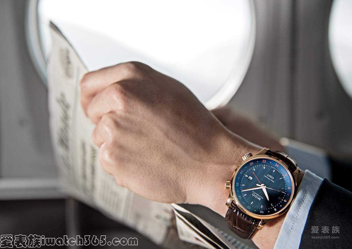"""舵手系列 """"两地时""""全自动机械腕表 M005.929.36.041.00"""
