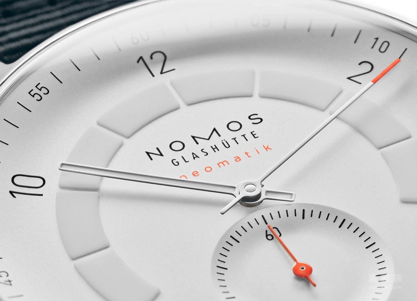 NOMOS Autobahn neomatik 41 date腕表 荣获2018红点设计大奖