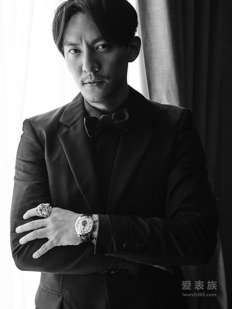 张震佩戴卡地亚臻品亮相第71届戛纳国际电影节