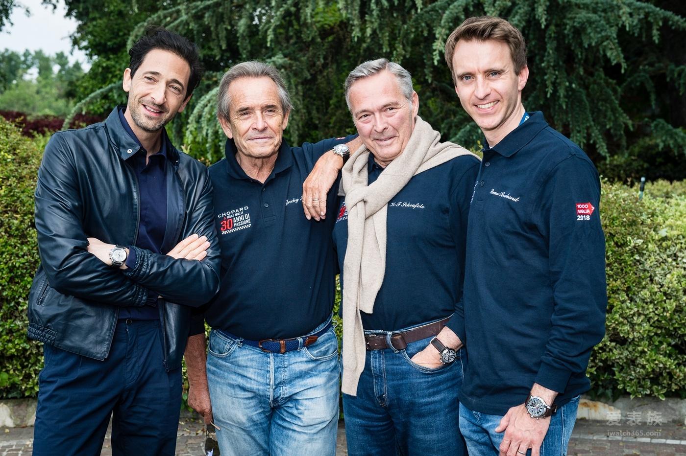 """2018Mille Miglia千里赛:Chopard萧邦欢庆品牌与 """"世界最美车赛""""携手合作30周年"""