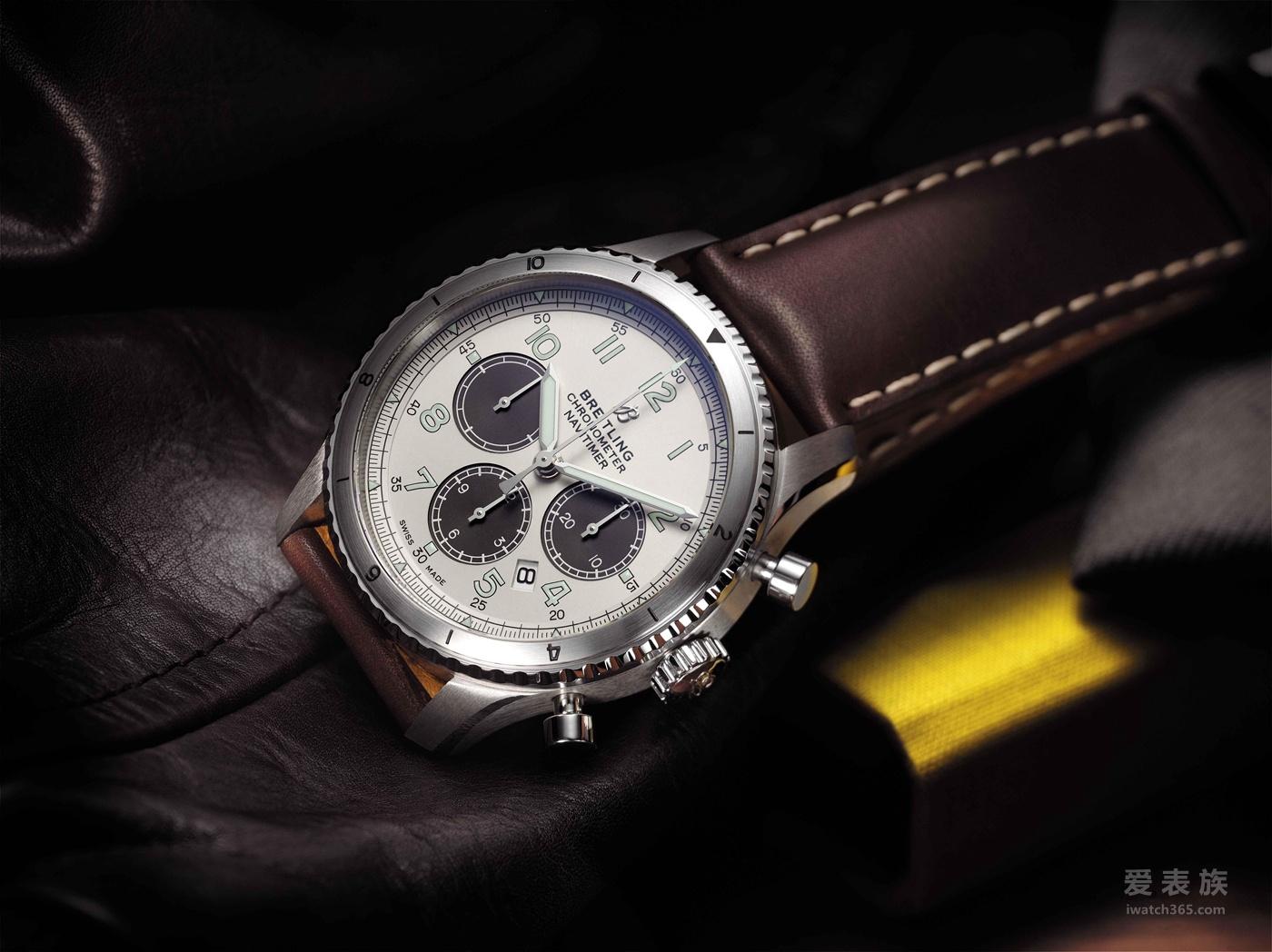 百年灵宣布与MR PORTER合作  联合推出限量版航空计时飞行员8腕表