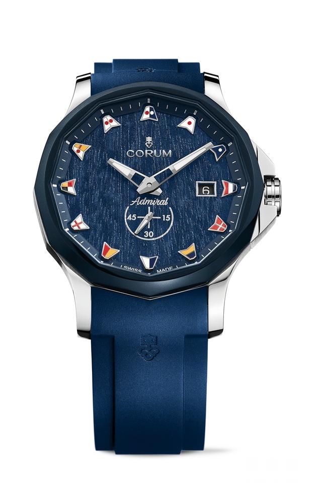追本溯源 返璞归真 CORUM昆仑表海军上将系列推出Legend 32、38及42腕表