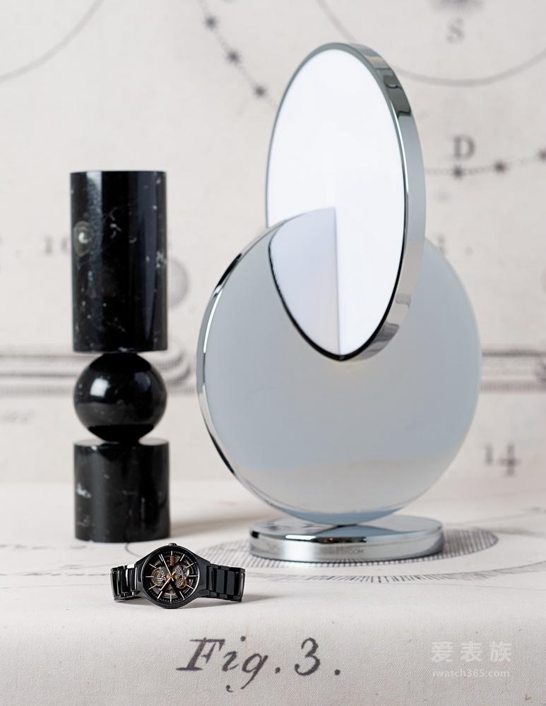 传统卓越工艺 现代至臻演绎 RADO瑞士雷达表True真系列镂空自动机械腕表