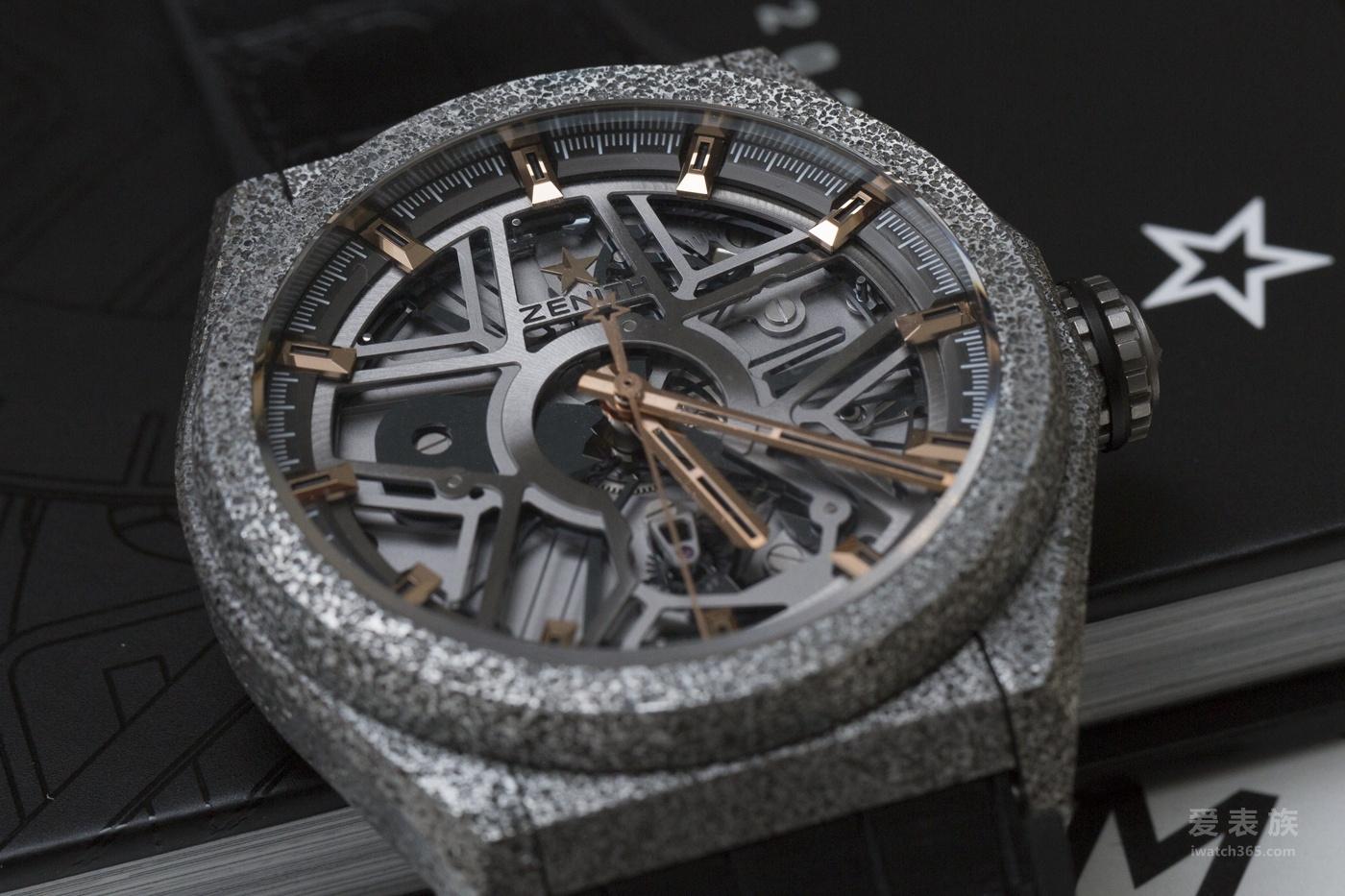 Defy Lab是一款大三针腕表