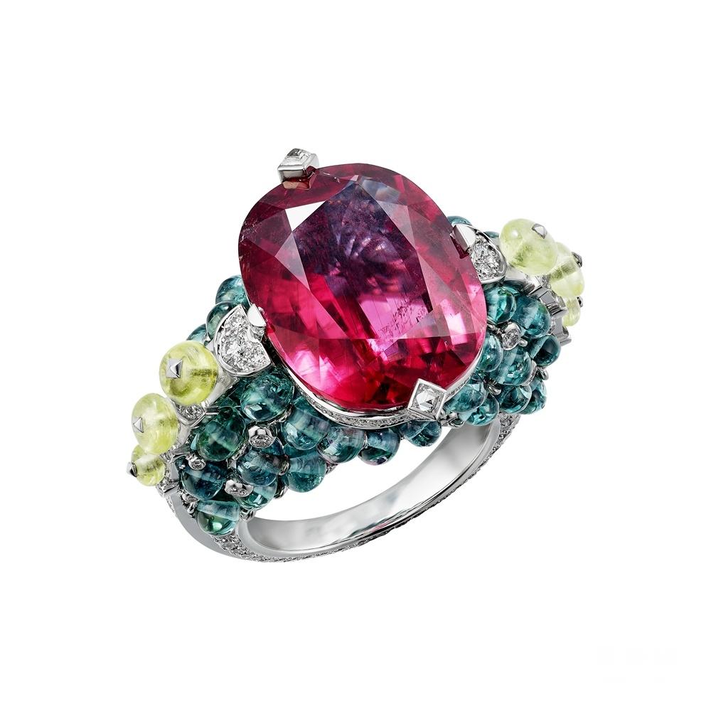 萃色万千 瑰宝无界 全新卡地亚Coloratura高级珠宝系列