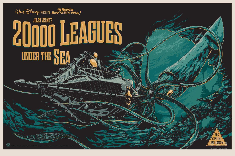 凡尔纳【海底两万里】中的鹦鹉螺号潜水艇