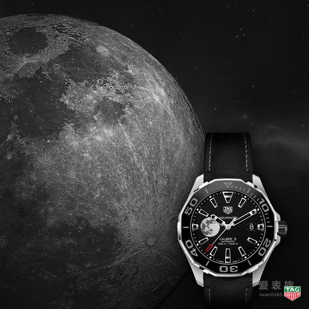 下一站月之背,TAG Heuer泰格豪雅  邀您中秋共同致敬探月传奇