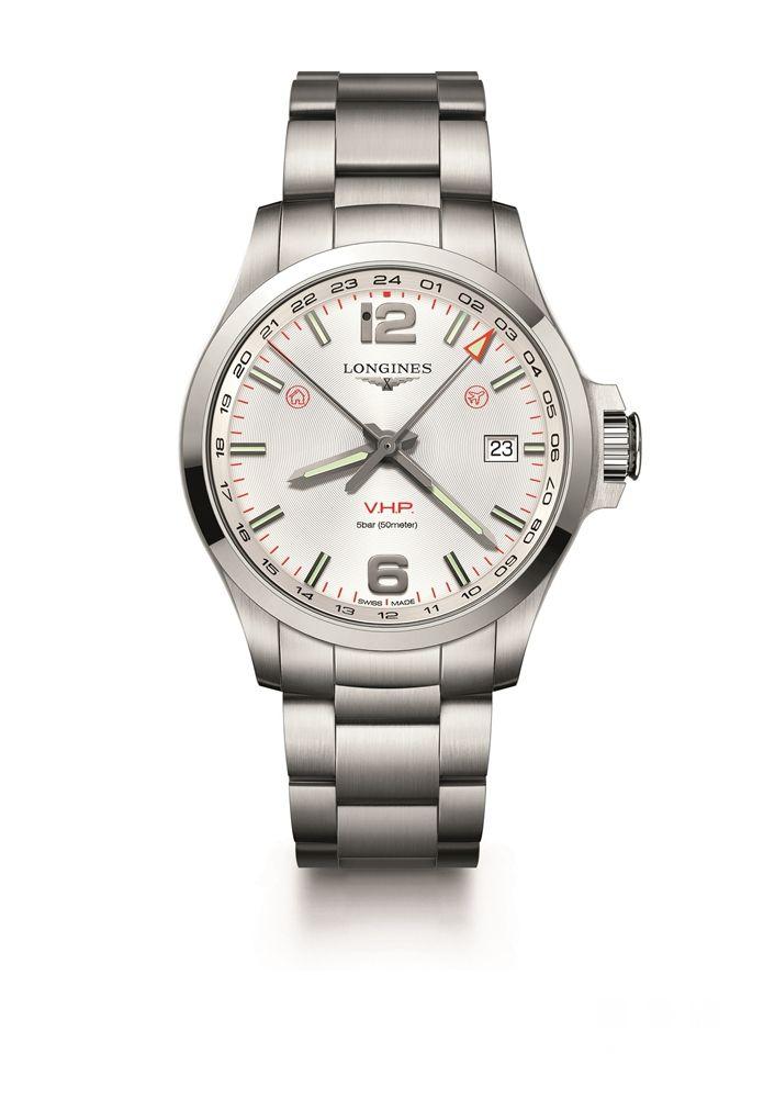 浪琴表推出康卡斯系列V.H.P. GMT光感设置腕表: 旅行爱好者的腕间首选