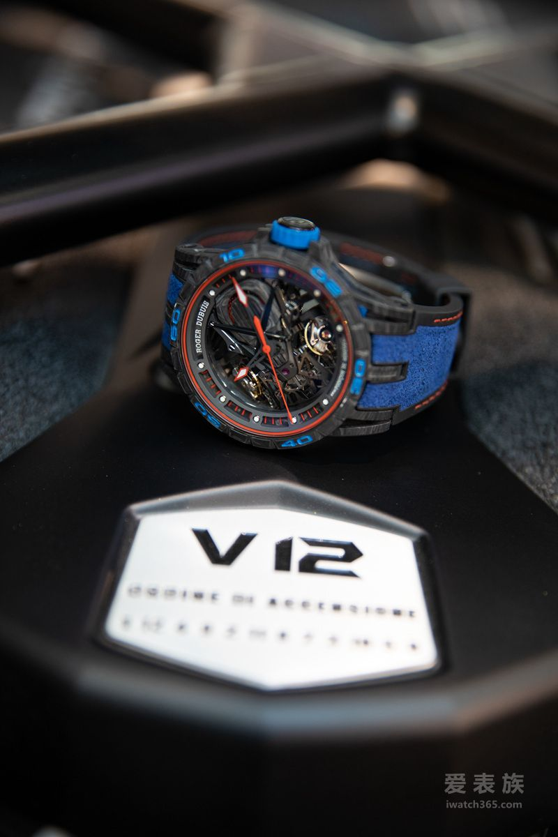 Excalibur Aventador S系列腕表 - 蓝色款于西安首度亮相