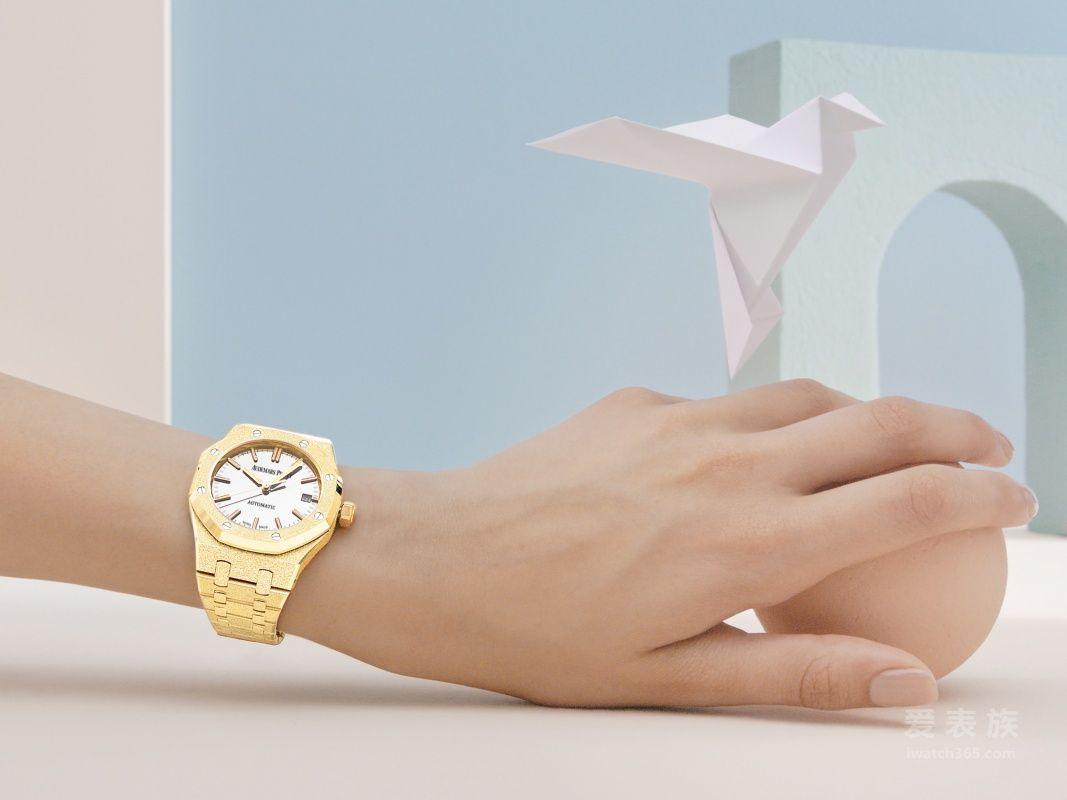 爱彼全新呈献皇家橡树系列霜金腕表 CAROLINA BUCCI限量版