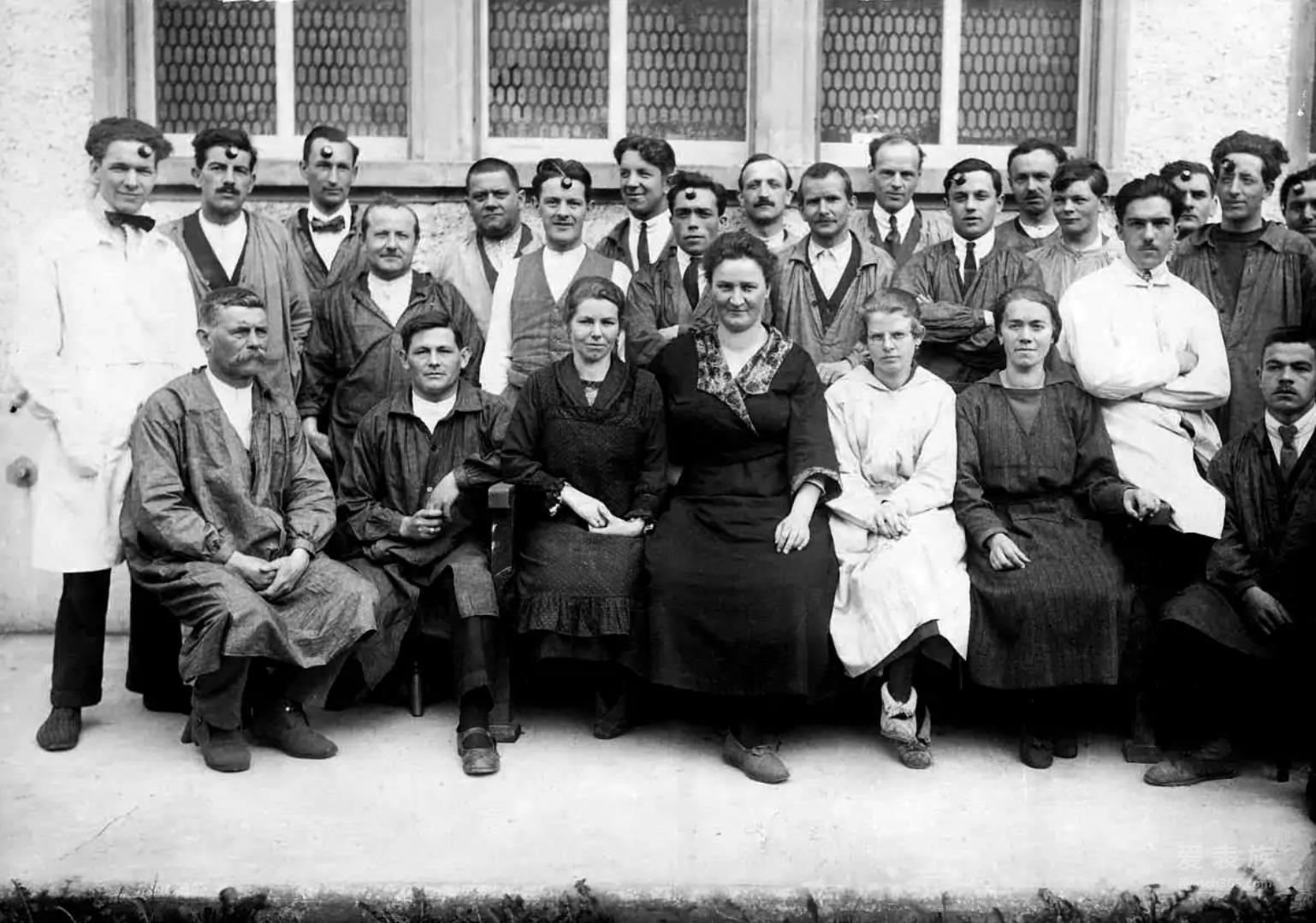 1920年代Felca公司员工合影