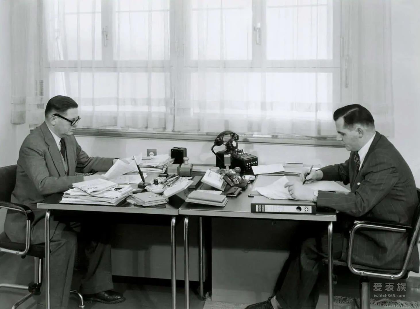 创始人Fritz Schluep与儿子Bruno Schluep