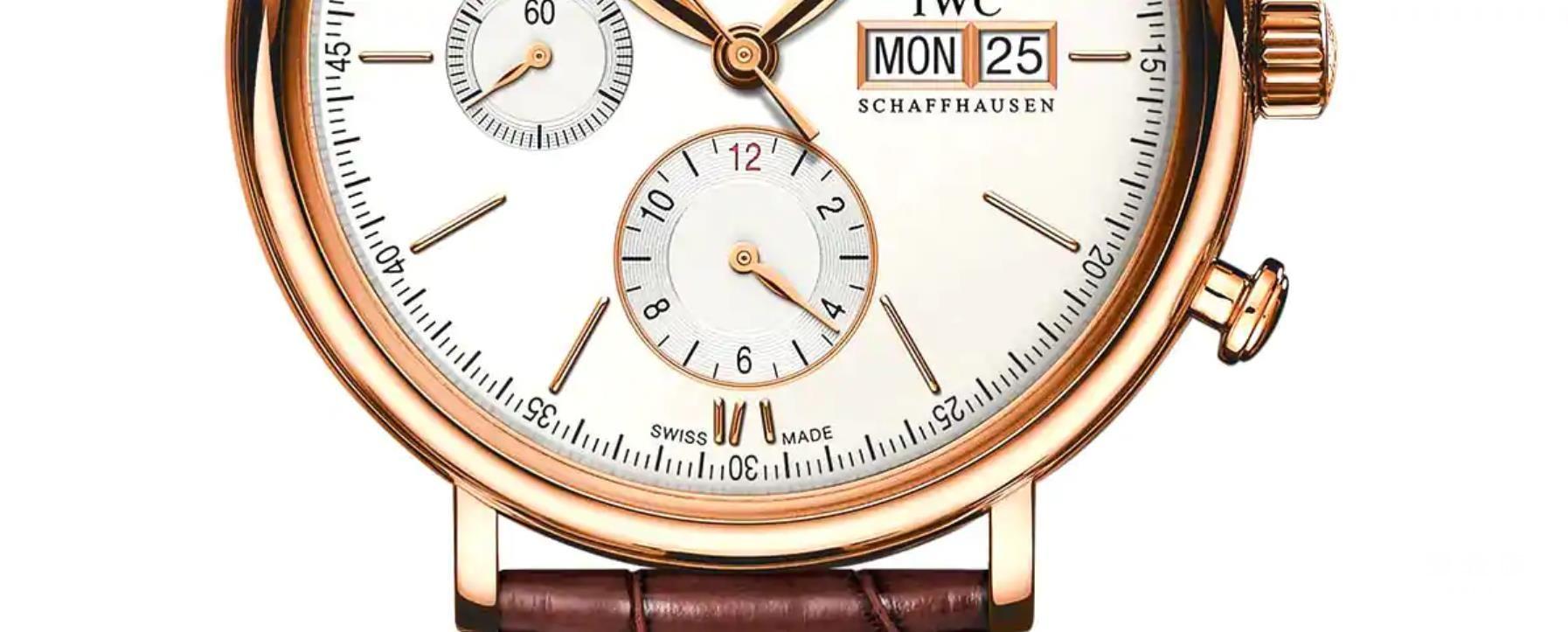 瑞士制造的标签通常位于手表下部6点钟位置。