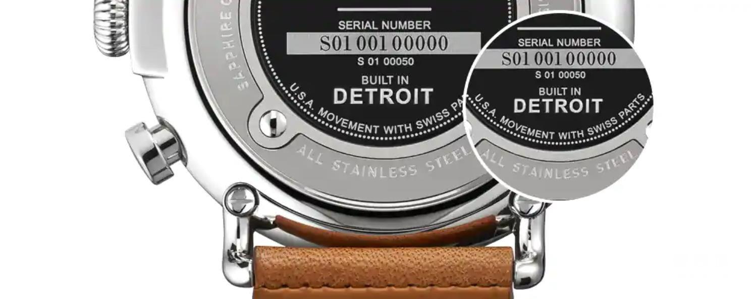 """手表上的产地标识除了""""SWISS MADE""""瑞士制造外,还有""""Swiss Movement""""瑞士机芯或""""Swiss Parts""""瑞士零件"""