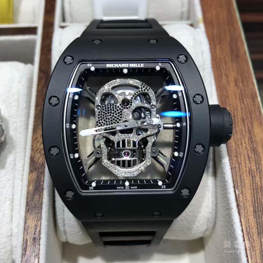理查德米勒 RM52-01骷髅陀飞轮腕表