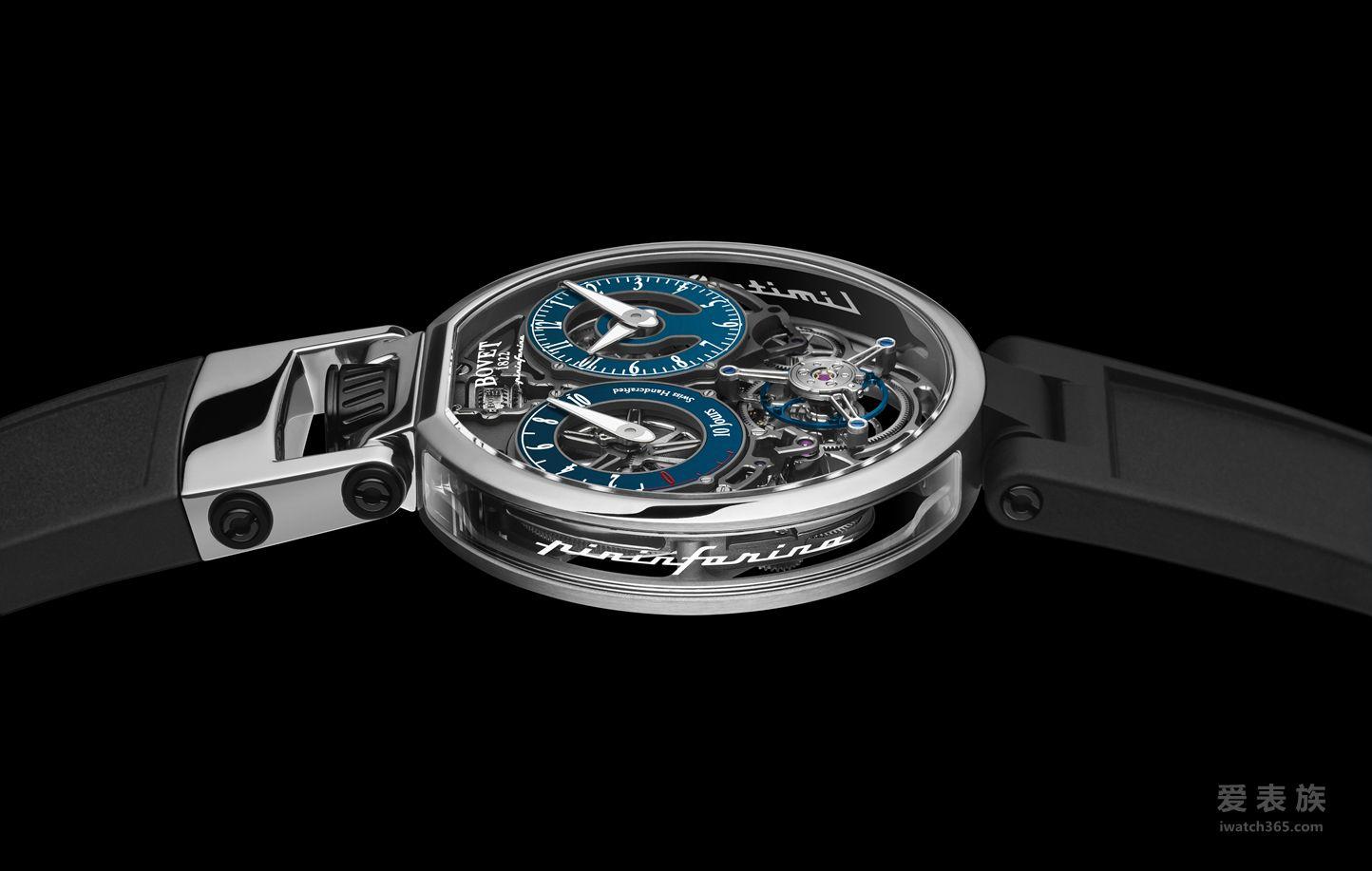 BOVET BY Pininfarina腕表系列Ottantasei陀飞轮腕表