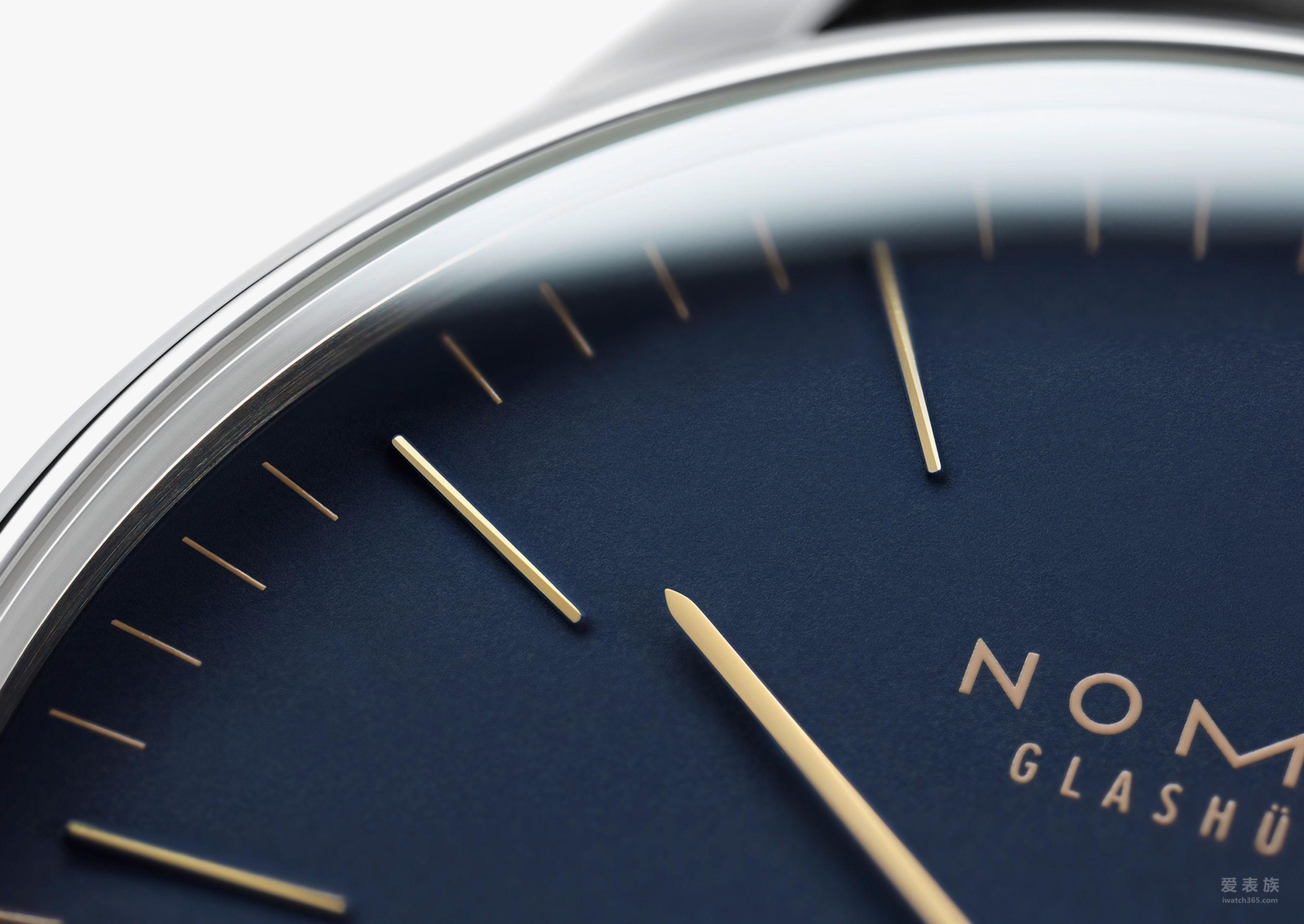 NOMOS- Orion 38 midnight blue 388 腕表