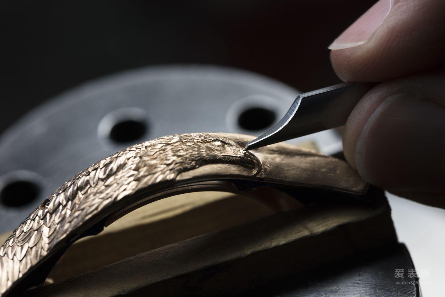 "Les Cabinotiers阁楼工匠系列2755机芯""雄鹰""腕表"