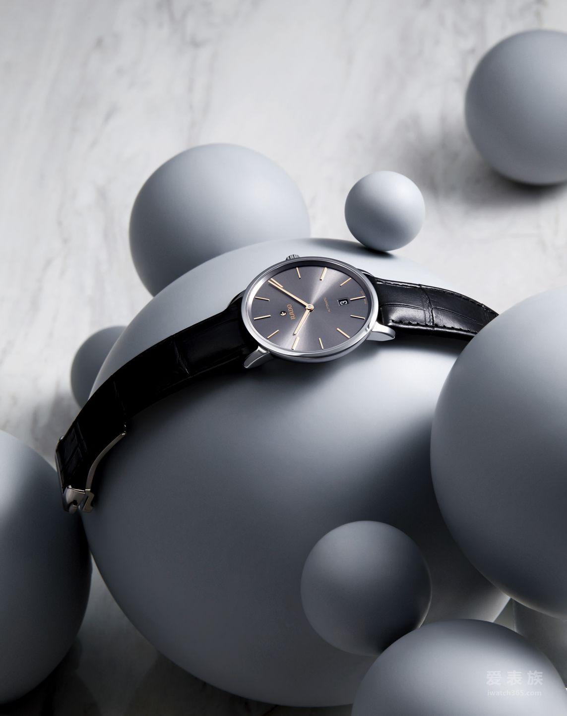 RADO瑞士雷达表DiaMaster钻霸系列CERAMOS™金属陶瓷自动机械腕表情境图10-23