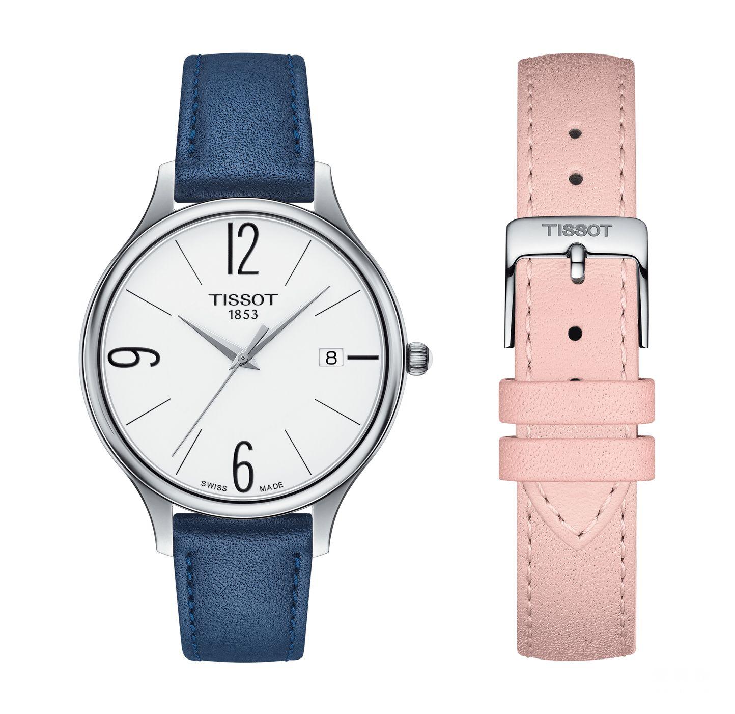 图14:天梭臻时系列圆形款腕表-4