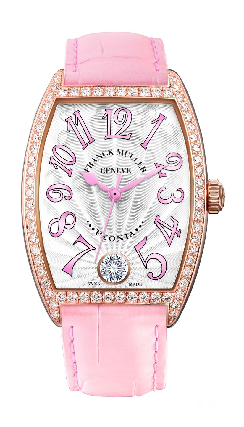 Cintree Curvex Peonia Diamond Limited Edition in Rose Gold with diamonds_3