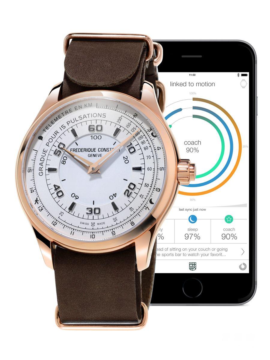 别具特色的圣诞节礼品 康斯登传统瑞士制计时智能腕表