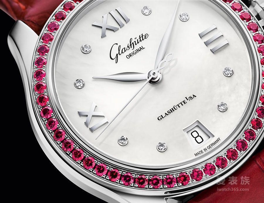红宝石唱响情人节爱的宣言 格拉苏蒂原创倾情呈现特别限量版小夜曲腕表