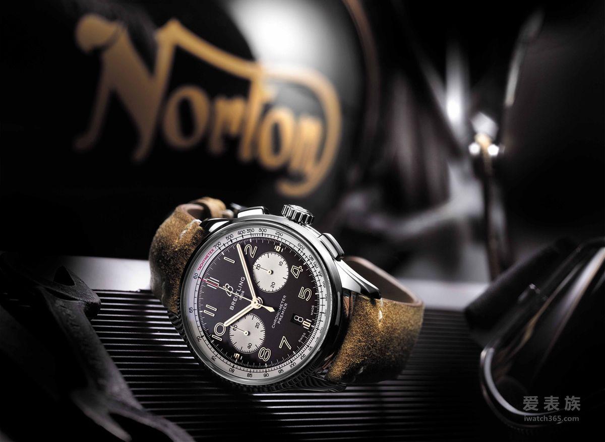 百年灵推出全新璞雅诺顿特别版腕表 致敬两大品牌强大的合作伙伴关系