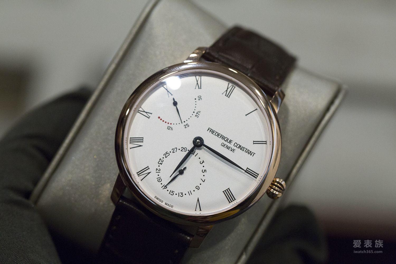 康斯登全新自产动力指示腕表