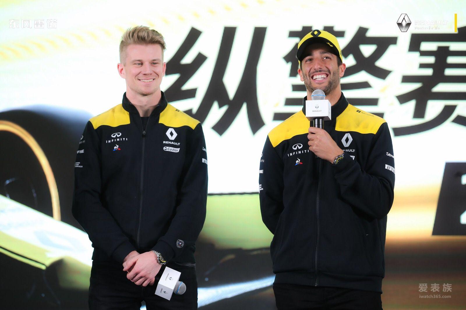 柏莱士携全新R.S.19计时码表亮相上海2019雷诺F1车队之夜