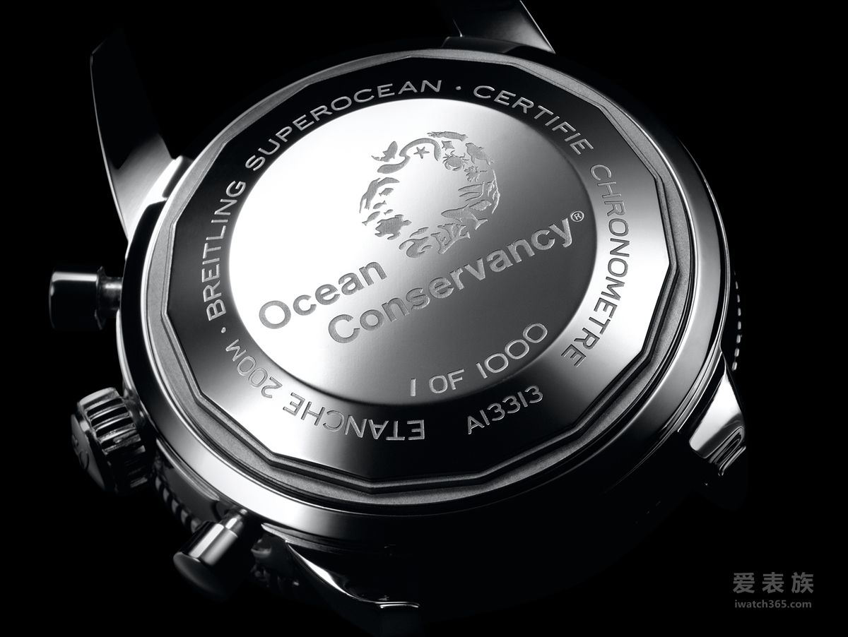 百年灵携手冲浪手行动队 隆重推出超级海洋文化系列限量版腕表