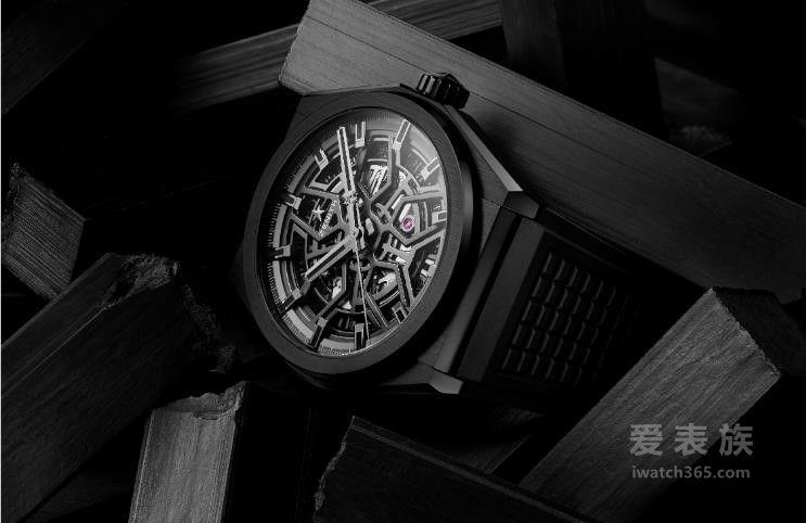 超卓先鋒之美 睿智與純粹 ZENITH真力時全新DEFY CLASSIC陶瓷系列腕表