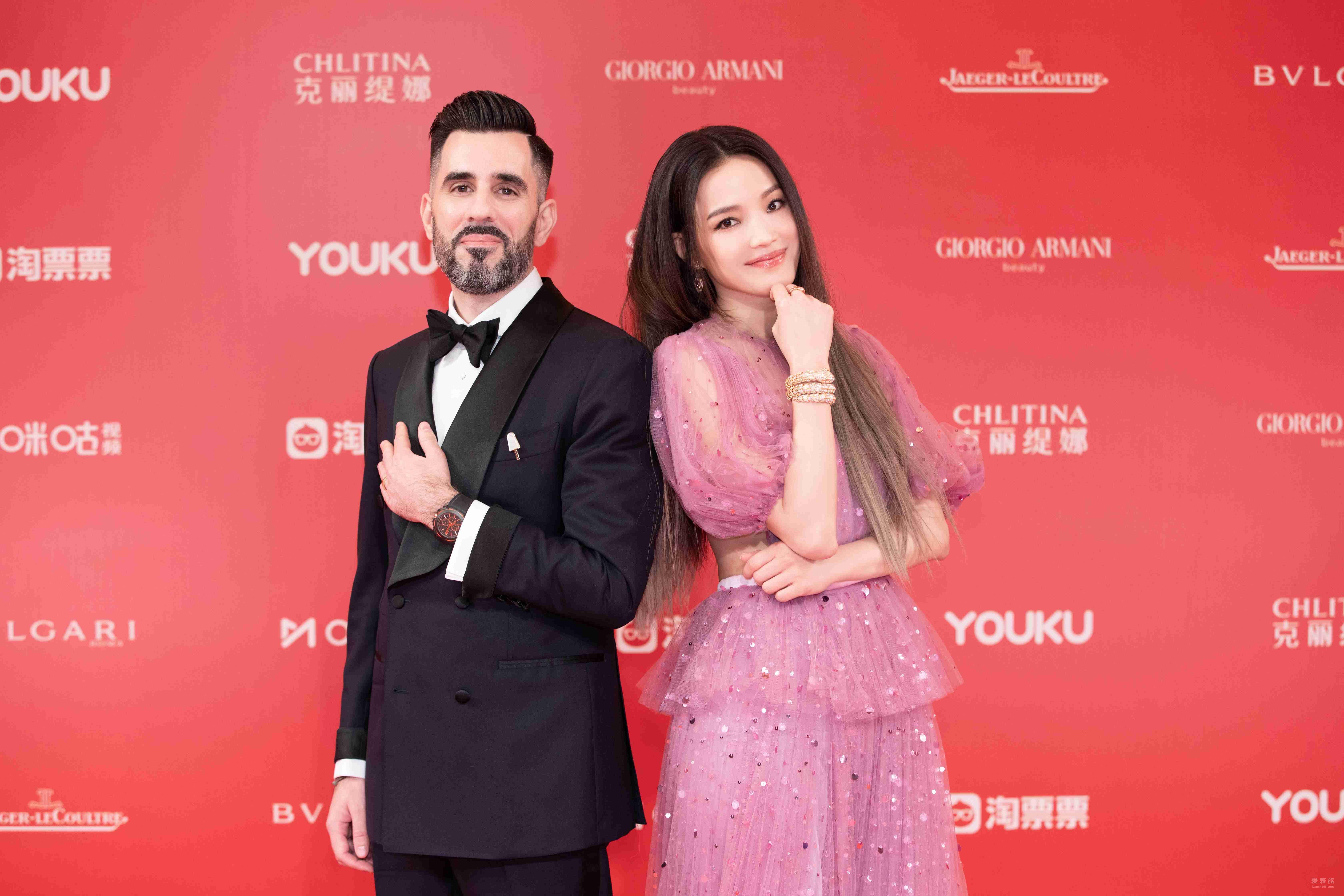 舒淇、佟麗婭、湯唯、姚晨等佩戴寶格麗 華彩閃耀第22屆上海國際電影節開幕式紅毯