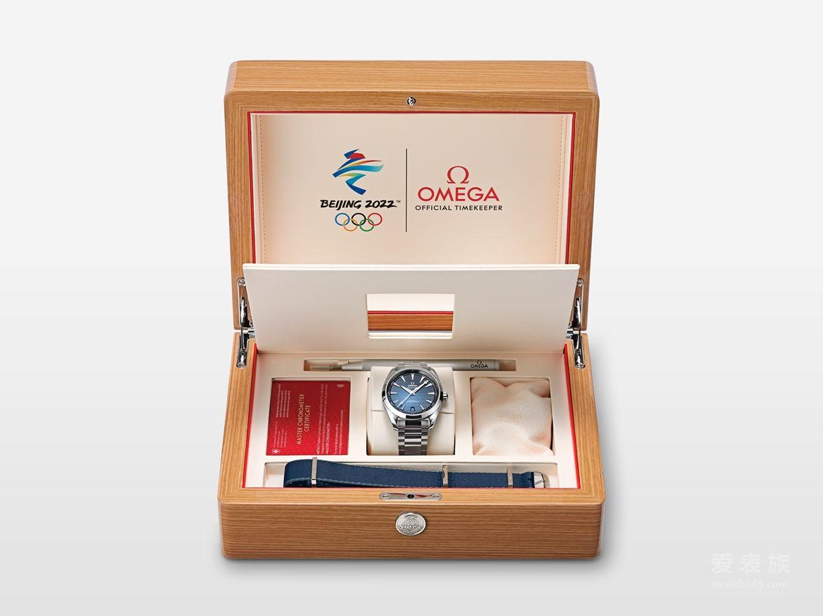 歐米茄于天貓奢侈品平臺獨家首發 2022年北京冬奧會限量版腕表