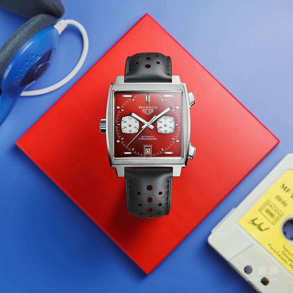 從銀幕光影到現實之境:泰格豪雅全新摩納哥系列)限量版腕表 于法國勒芒榮耀呈現