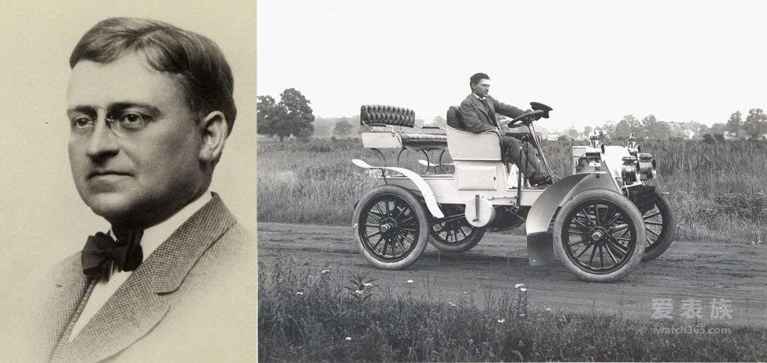 帕卡德和他早期的一輛汽車