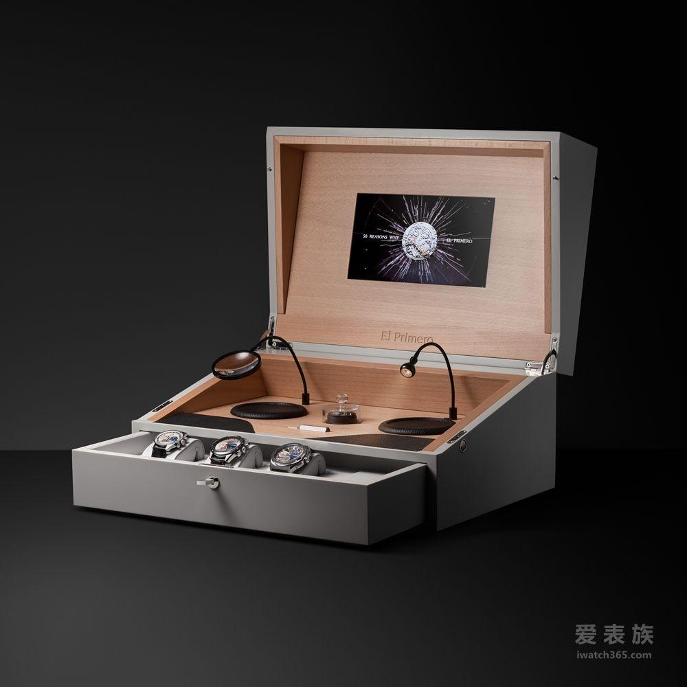 傳承時光之美 譜寫制表未來 ZENITH真力時榮耀禮獻EL PRIMERO五十周年紀念禮盒
