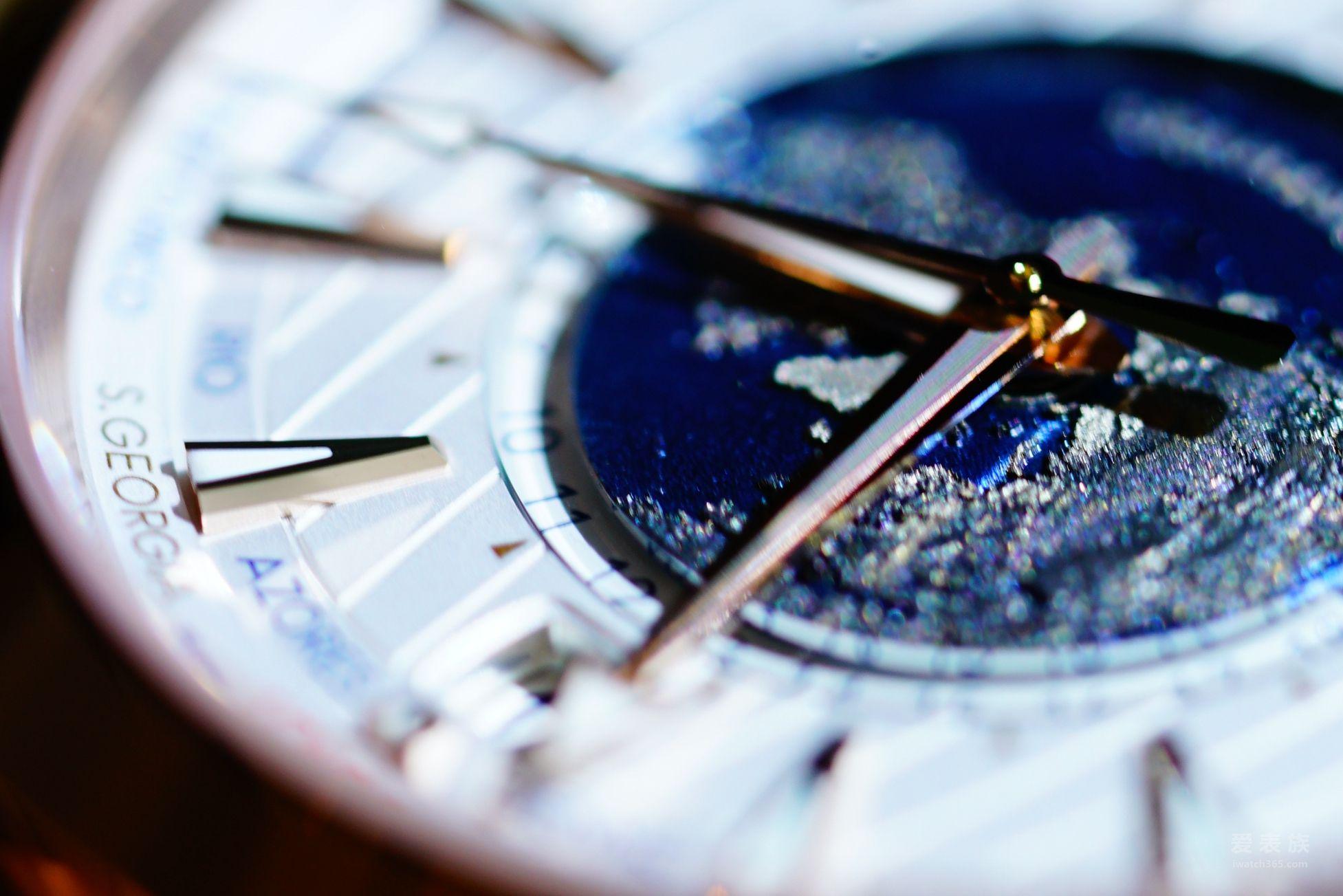 欧米茄同轴至臻天文台GMT世界时腕表