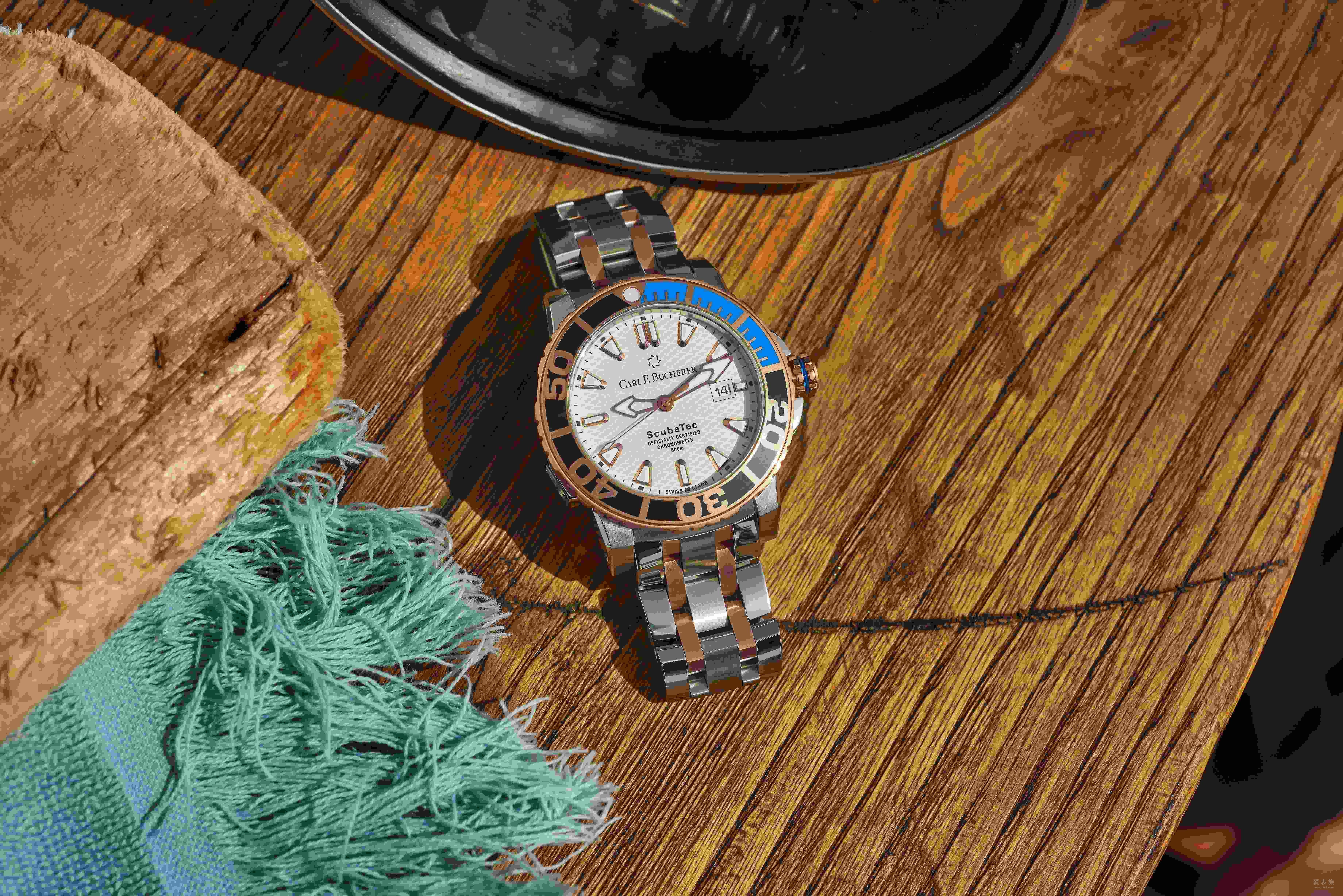 蓝色时刻  柏拉维系列腕表炫酷设计 沁爽炎炎夏日