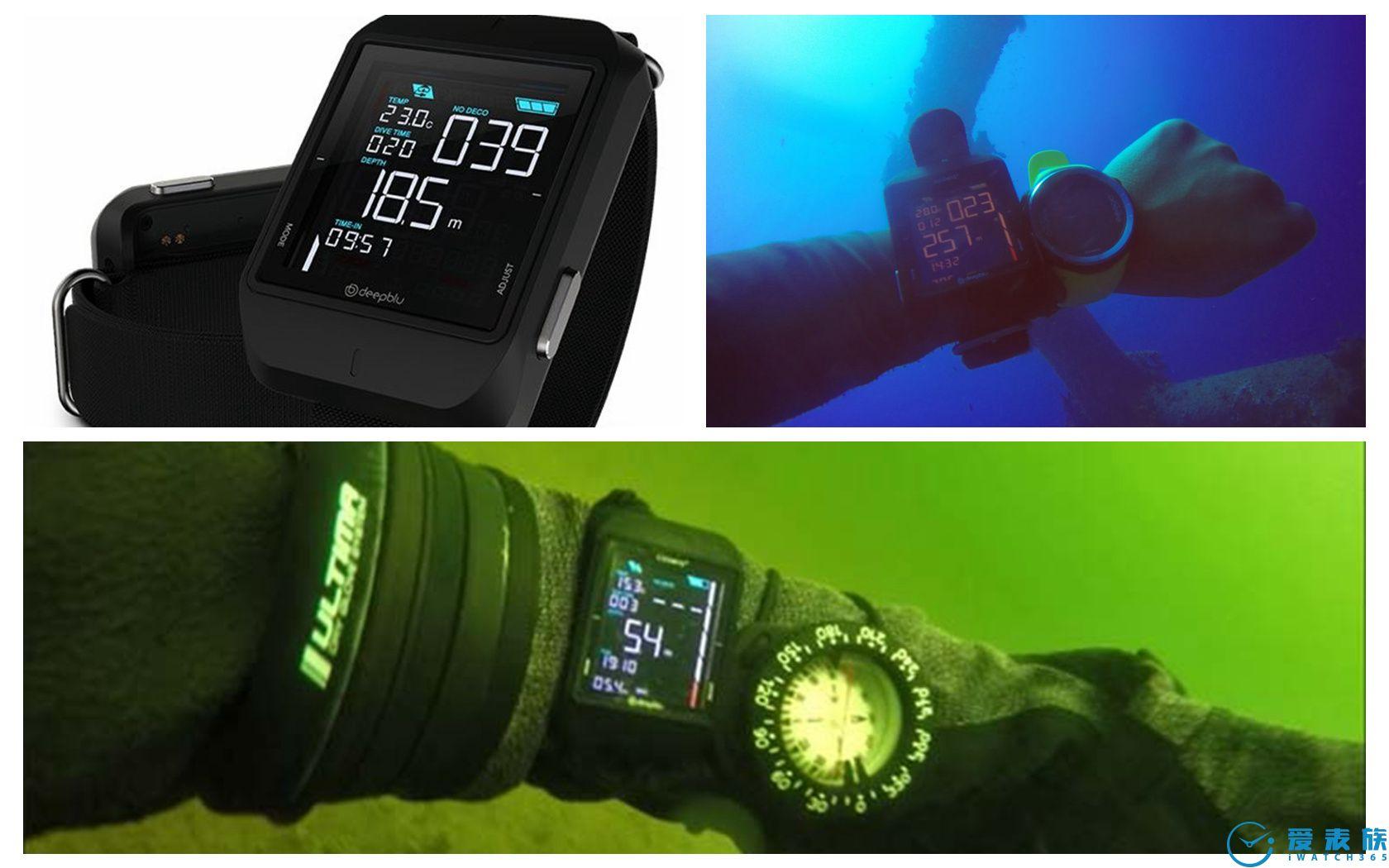 真正的现代潜水员才不戴机械潜水表
