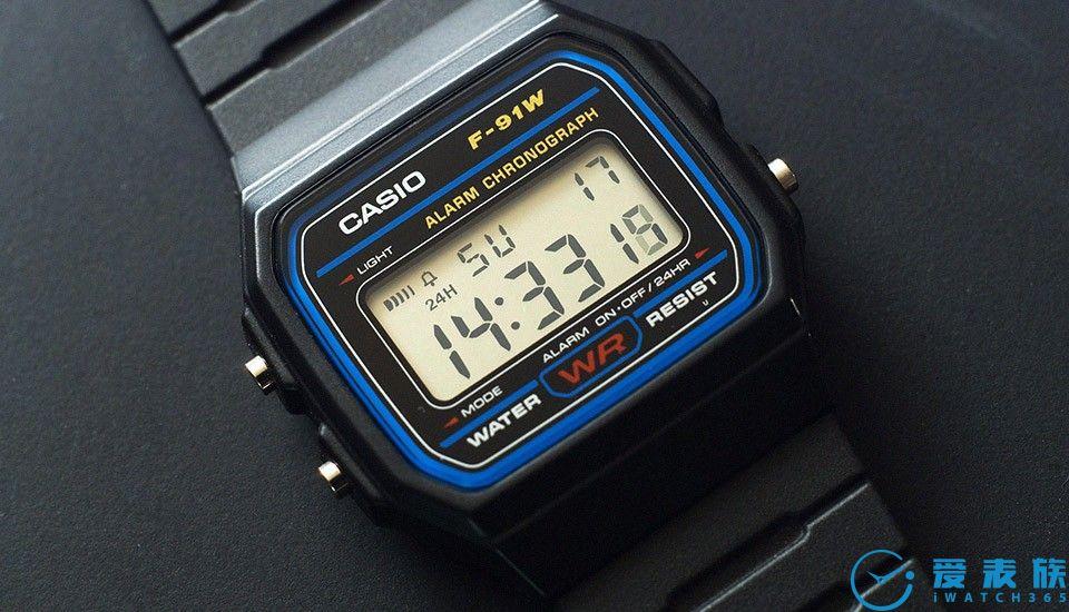 炸弹手表---卡西欧F-91W
