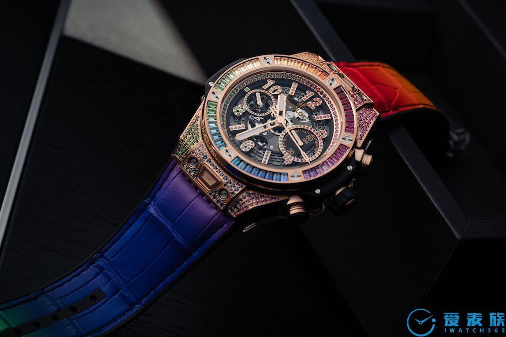 Big Bang Unico彩虹腕表