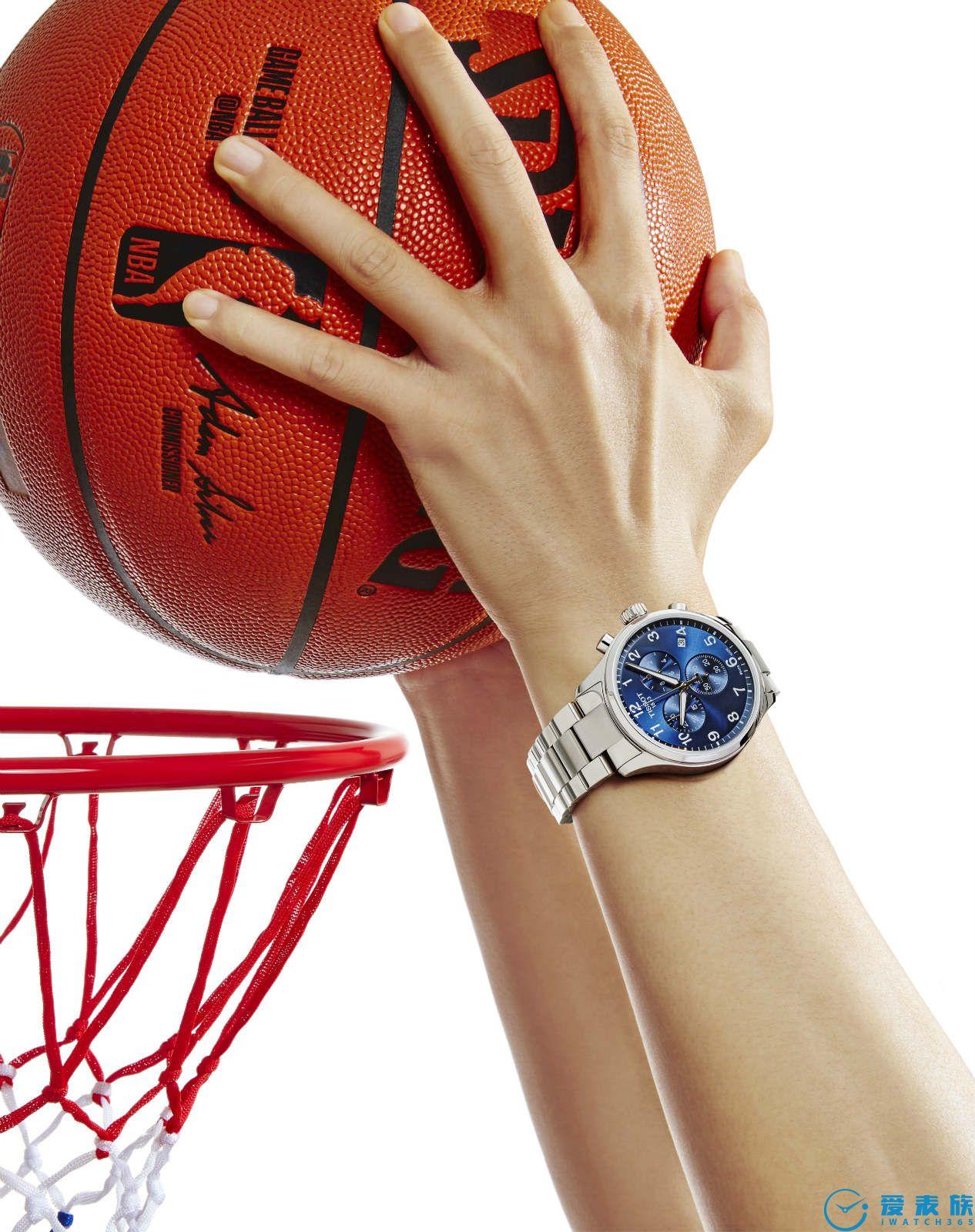 此刻·由我 TISSOT天梭表将篮球运动融入时尚生活 点燃腕间夏日狂热